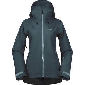 Bergans Stranda Insulated Hybrid Jacket Women, forest frost
